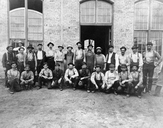 Workers at HOmestead around 1892